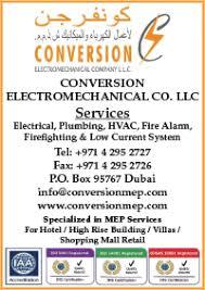 Conversion Electromechanical Co. LLC dubai
