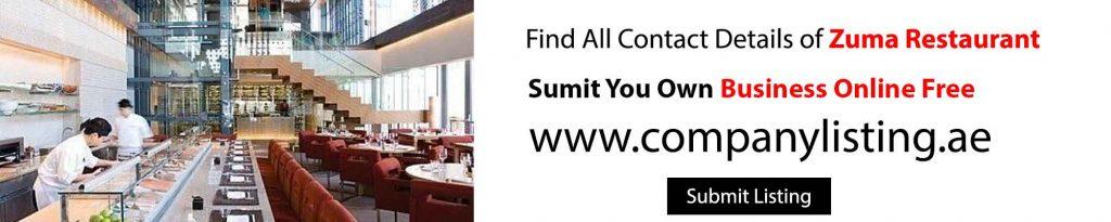 Zuma Restaurant by company listing in dubai and uae