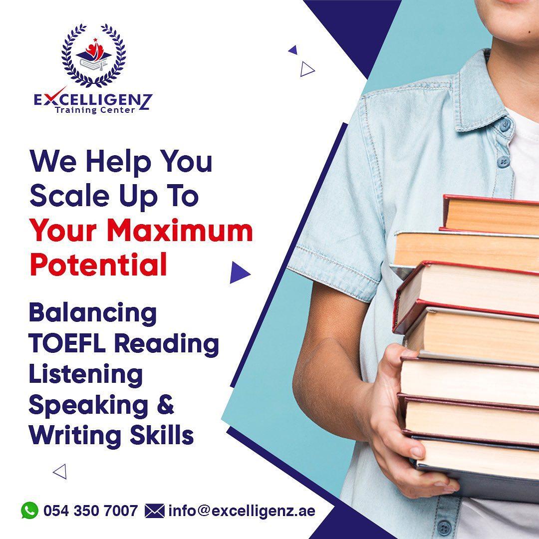 TOEFL Prep Courses in dubai